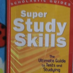 3 FOR $10.  GREAT BOOK ON SUPER STUDY SKILLS